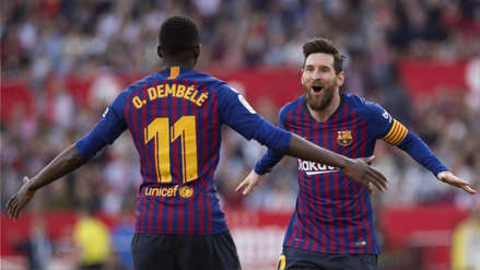 Lionel Messi | Barcelona ganó 4-2 a Sevilla con tres golazos del crack argentino