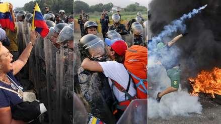 Tensión y esperanza: así aguardan los venezolanos el ingreso de ayuda humanitaria en la frontera [FOTOS]