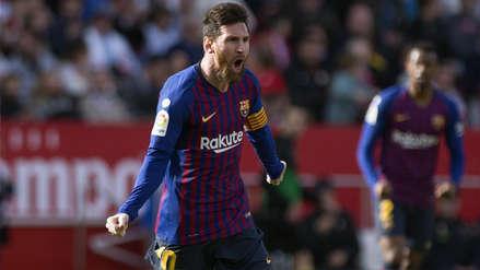 Barcelona vs. Sevilla | Lionel Messi anotó golazo tras descomunal volea