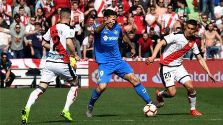 Luis Advíncula: Rayo Vallecano perdió 2-1 ante Getafe y se hunde más en LaLiga