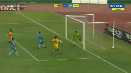 ¡Para no creer! Daniel Chávez falló esta inmejorable ocasión de gol ante Binacional