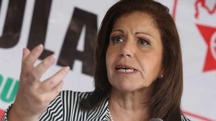 Lourdes Flores dice que aporte de Odebrecht fue recibido y administrado por Horacio Cánepa