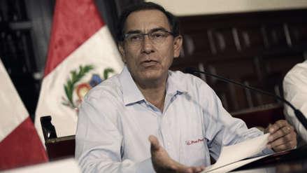 IEP: Aprobación de Martín Vizcarra cae cinco puntos tras intensas lluvias y huaicos