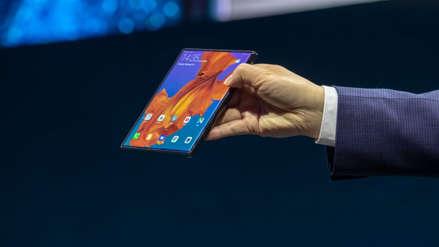 Huawei presenta el Mate X, su teléfono plegable de 8