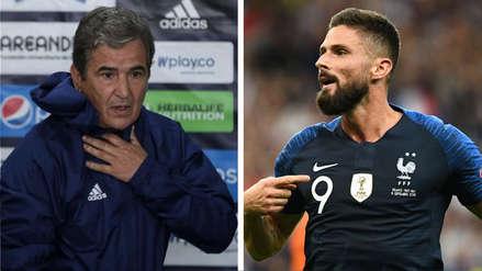Jorge Luis Pinto comparó a este ex delantero de Alianza Lima con Olivier Giroud