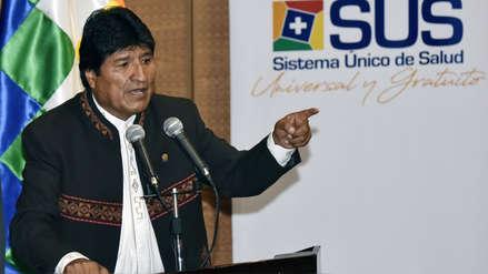 Evo Morales aplaude a Venezuela por defender la