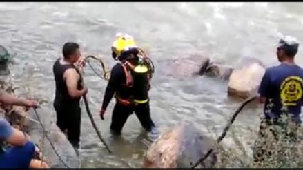 Miembros de la Marina se suman a búsqueda de desaparecidos en el río Velille
