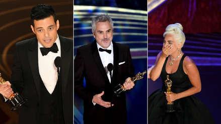 Oscar 2019: Estos fueron los mejores momentos de la ceremonia