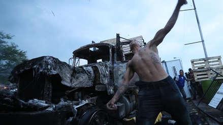 50 imágenes de la primera 'batalla' de Juan Guaidó para ingresar ayuda humanitaria a Venezuela