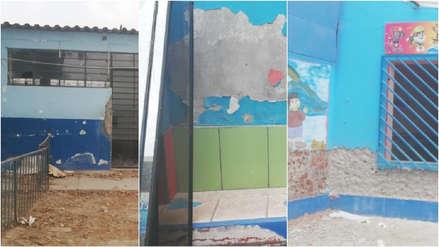 Fotos | Colegio afectado por aniego en San Juan de Lurigancho retrasa clases hasta abril