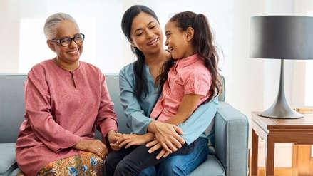 La presencia de los abuelos en la vida de un niño es la clave para la longevidad, según estudios