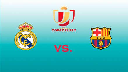 Real Madrid vs. Barcelona: ¿a qué hora se juega el partido por la Copa del Rey 2019?