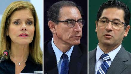 Nuevos chats de PpK revelan críticas de Aráoz a Vizcarra y tensión entre congresistas