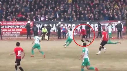 YouTube viral: nigeriano anotó un golazo al estilo Diego Maradona y Lionel Messi