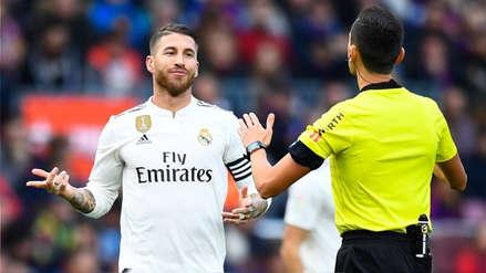 UEFA abrió procedimiento disciplinario contra Sergio Ramos y podría perderse 2 partidos en Champions League