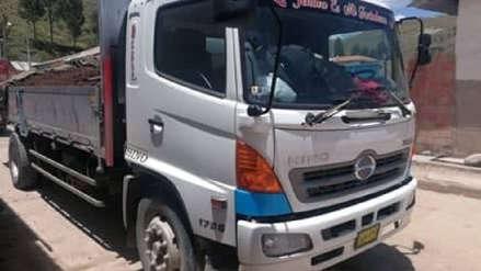Intervienen vehículo con más de 14 toneladas de oro sin procesar en Cusco