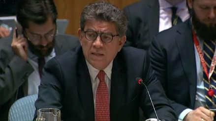 Perú solicitó ante la ONU que se investigue violación de Derechos Humanos en Venezuela