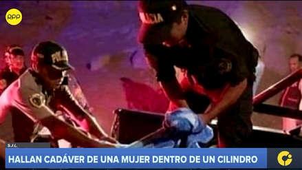 Fiscalía abrió una investigación a expareja de mujer hallada muerta en cilindro en SJL