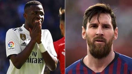 Real Madrid vs. Barcelona: Vinicius Junior aclaró sus palabras sobre Lionel Messi antes del clásico