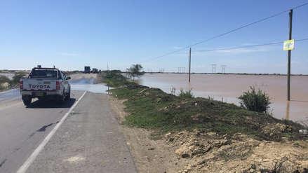 Lambayeque | Tránsito restringido en la Panamericana Norte por aumento del caudal del río La Leche