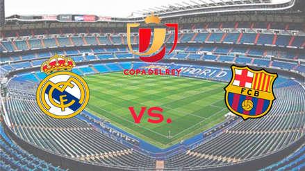 Real Madrid vs. Barcelona EN VIVO y EN DIRECTO por la Copa del Rey 2019: ver aquí el clásico con Messi y Vinicius