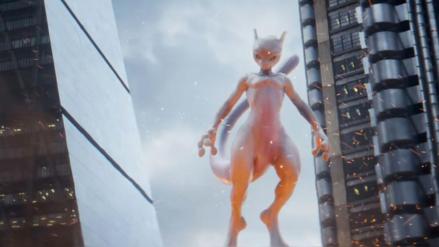 Nuevo tráiler de Detective Pikachu nos muestra lo intimidante que puede ser Mewtwo