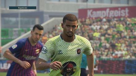 Ya puedes jugar con Pirata F.C. en PES 2019 gracias a la comunidad
