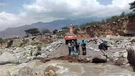 La Libertad: huaicos y bloqueos de carreteras afectan a Otuzco y Huamachuco