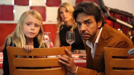 Eugenio Derbez y el tierno reencuentro con su hija de la película