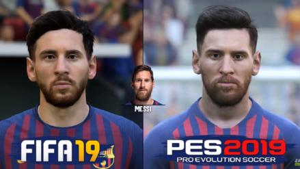 Real Madrid vs. Barcelona | FIFA 19 o PES 2019: ¿Cuál juego representa mejor a los jugadores?