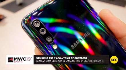 Nuestras primeras impresiones de los Samsung Galaxy A30 y A50