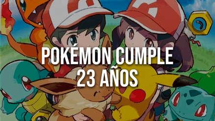 Pokémon celebra el 23 aniversario de su exitosa y millonaria franquicia de videojuegos
