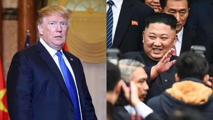 """Donald Trump predice un futuro """"estupendo"""" para Corea del Norte si se desnucleariza"""