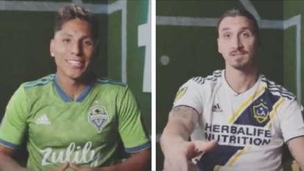 Raúl Ruidíaz y Zlatan Ibrahimovic se unen para un spot de la MLS