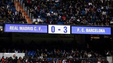Real Madrid vs. Barcelona | Cinco claves de la goleada culé en el Santiago Bernabéu