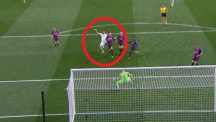 Real Madrid vs. Barcelona: Karim Benzema falló un clamoroso gol tras pase de Vinicius