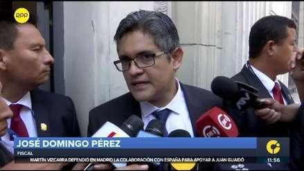 Fiscal Pérez criticó propuesta de ministro del Interior sobre arresto domiciliario para investigados