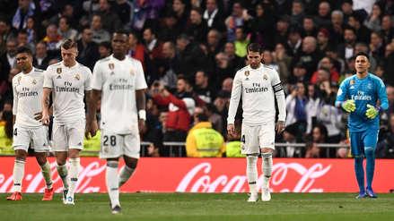 12 fotos que muestran la desolación de los jugadores del Real Madrid tras caer goleados ante el Barcelona