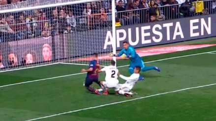 Real Madrid vs. Barcelona: así fue el autogol de Raphaël Varane que amplió la ventaja blaugrana