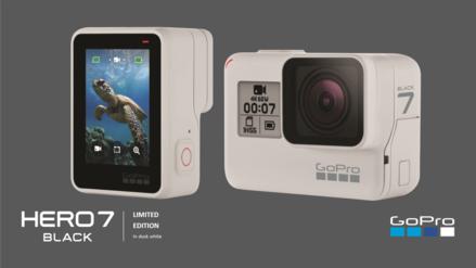 La cámara de acción Hero7 Black se vuelve blanca: GoPro anuncia edición limitada Hero 7 Dusk White