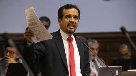Congreso remitió informe en minoría de Humberto Morales al Ministerio Público