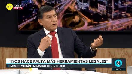 Ministro Morán: Félix Moreno