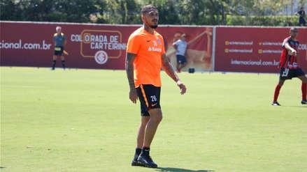 Paolo Guerrero: así fue el gol anulado en su primer amistoso con el Inter de Porto Alegre