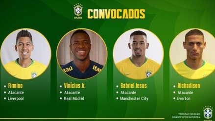 Brasil: Vinicius Junior fue convocado por primera vez a la selección absoluta