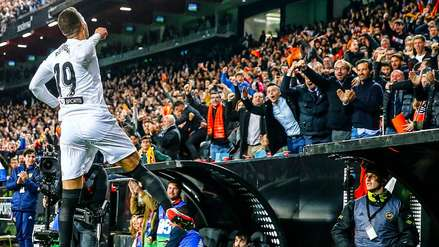 Valencia derrotó a Betis y se metió en la final de la Copa del Rey