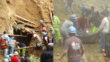La Libertad: Derrumbe de mina en Parcoy deja un minero fallecido y 3 heridos