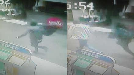 Chorrillos: reportan asalto en agencia bancaria en centro comercial