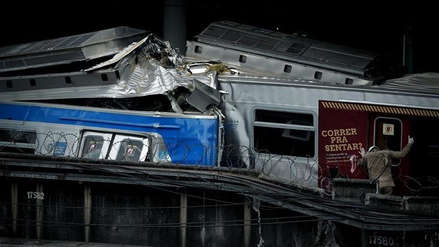 Un muerto y ocho heridos por un choque de trenes en Río de Janeiro
