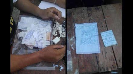Penal de Chiclayo | Hallan 4 mil números telefónicos y más de 160 cuentas bancarias para extorsionar desde la cárcel
