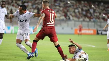 San Martín y su lección de contragolpe para anotarle el segundo gol a Universitario